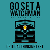 Go Set a Watchman Test