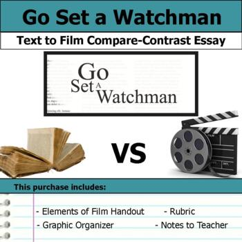 Go Set a Watchman - Text to Film Essay