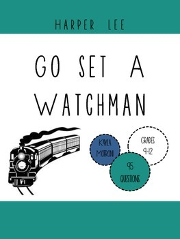 Go Set a Watchman by Harper Lee: Book Club Discussion Guide
