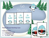 Go Skate! Winter themed matching game