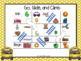 Go, Slide, and Climb:  NO PREP Go to School Themed Syllables Game