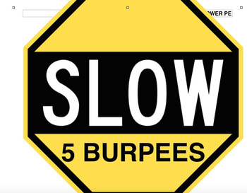 Go, Slow, or Whoa Activities