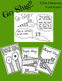 Go Slug! A Fun Slug-Filled Version Of Go Fish. Printable Card Game.