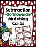 Go Snowman Matching Subtraction