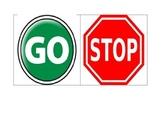 Go & Stop Visuals