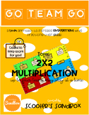 Go Team Go - Multi-Digit Multiplication (2-digit by 2-digit) Game