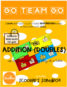 Go Team Go - Addition (Doubles) Game
