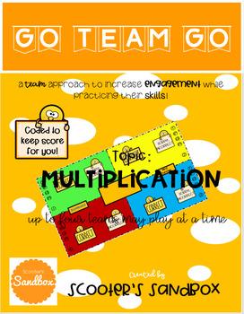 Go Team Go - Multiplication Game