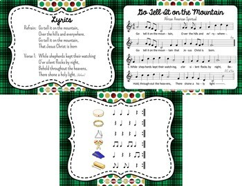 Go Tell It On the Mountain - African American Spiritual/Christmas Orff Accomp.
