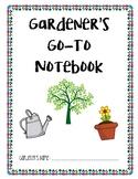 Go-To Gardener's Notebook TN Unit Starter- Life Science
