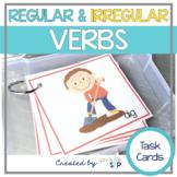Regular and Irregular Verbs | Syntax Skill Drill Cards Speech Therapy