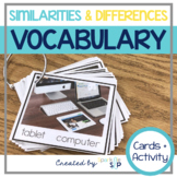 Vocabulary Similarities and Differences:  Go-To Quick Skill Drill Cards
