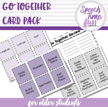 Go Together Pack for Older Students