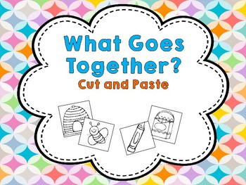 What Goes Together? Cut and Paste