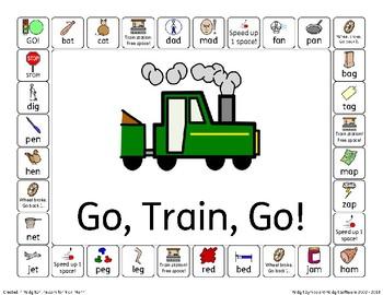 Go, Train, Go! A CVC Word Game