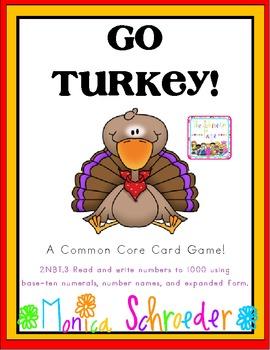 Go Turkey! A Common Core Card Game.