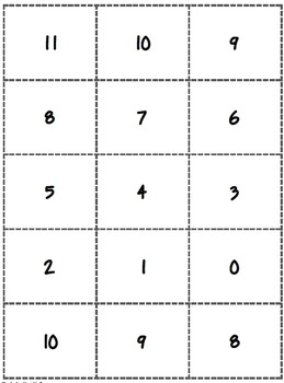 Go Turkey Subtraction Game