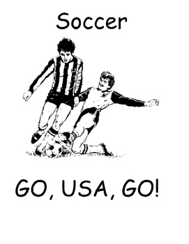 Go, USA, GO! Printable Olympic Activity