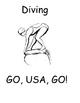 Go, USA, GO! Printable Olympic Activity