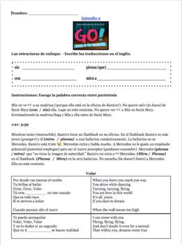 Go! Vive a tu manera- Episode 2 resources
