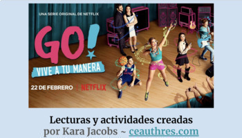 Go! Vive a tu manera - Pre-Watching guide and Episode 1 lectura