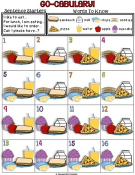 Go-cabulary! A Fun Oral Language Vocabulary Game for ESL/ELLs! *Freebie Sample*