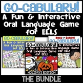 A Fun & Interactive Oral Language Vocabulary Game for ELLs