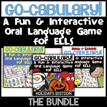 Gocabulary! A Fun & Interactive Oral Language Vocabulary G