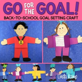 Olympics Back to School Goal Setting Activity-Craft