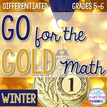 Winter Sports Differentiated Math Worksheets and Brag Tags