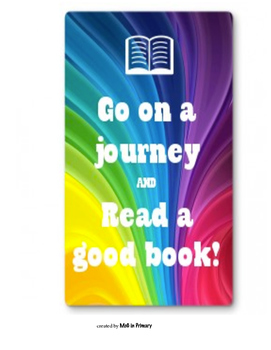 Go on a journey! small poster