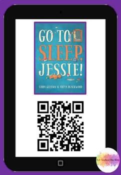 Go to sleep Jessie QR Code Comprehension Pack