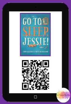 Go to sleep Jessie QR Code Comprehension Pack