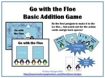 Go with the Floe - Winter Addition Practice