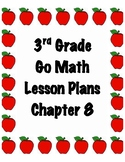 GoMath 3rd Grade Chapter 8 Lesson Plans