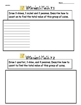 GoMath Ch7 Write About Math