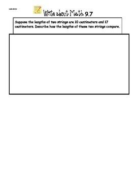 GoMath Ch9 Write About Math