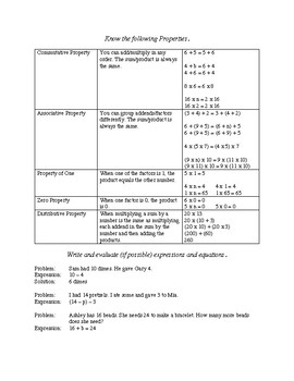 GoMath Chapter 3: Study Guide