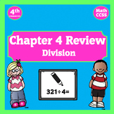 Go Math Chapter 4 Review Powerpoint ~ Division ~ 4th Grade