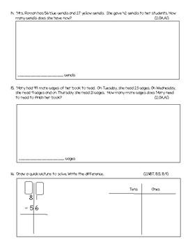 GoMath Chapter 5 test 2nd Grade