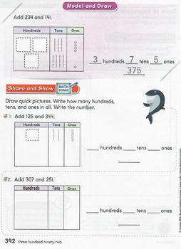 GoMath Chapter 6 Powerpoints 3 digit addition and subtraction