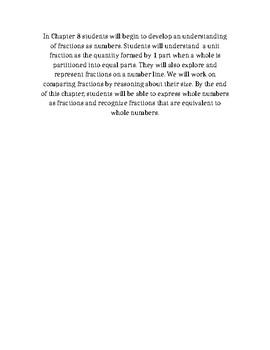 GoMath Chapter 8 Description
