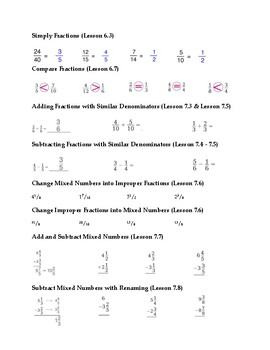 GoMath Chapter 8: Study Guide