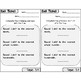 GoMath Exit Tickets-Unit 3