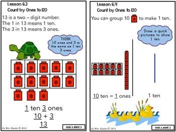 GoMath! First Grade Chapter Six Strategies Book