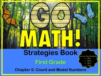 GoMath! First Grade Chapter Six Strategies Book