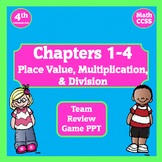 4th Grade Math Game ~ Place Value, Multiplication, & Division Review