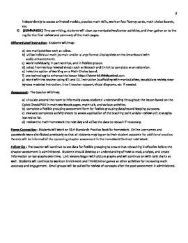 GoMath Grade 1 Chapter 10 Lesson 4 Lessonplan