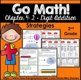 Go Math! Grade 2 Chapter 4: 2-Digit Addition Strategies Reference Book