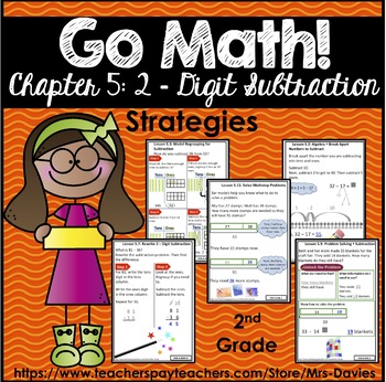 Go Math! Grade 2 Chapter 5: 2-Digit Subtraction Strategies Reference Book